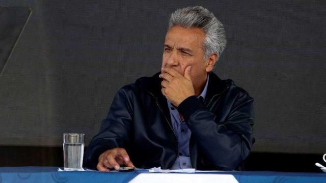 presidente de Ecuador Lenin Moreno