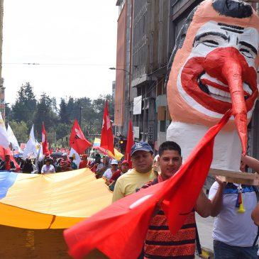 Lucha política unitaria en contra las medidas neoliberales del gobierno de Moreno