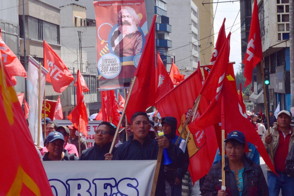 Movilización Ecuador