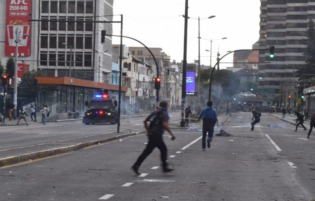 Ecuador un gobierno que se debilita