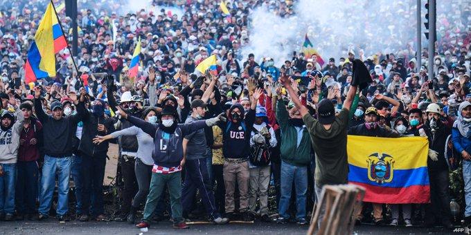 Después del levantamiento indigena-popular inicia una feroz disputa por los sentidos sociales de la lucha