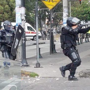 La brutal represión que no se ve en los grandes medios