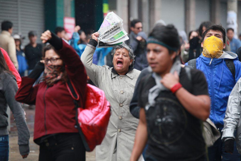 Perspectivas del levantamiento indigena y popular