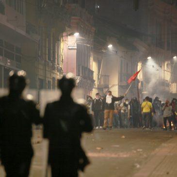 Quito libertario, rebelde, solidario y combatiente