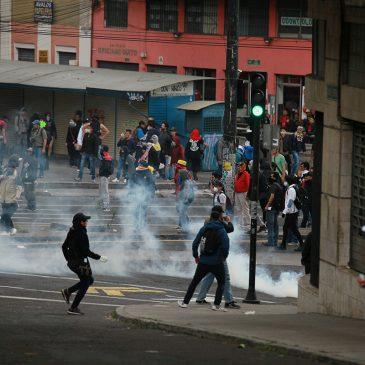 La recuperación social y política popular en el levantamiento de octubre