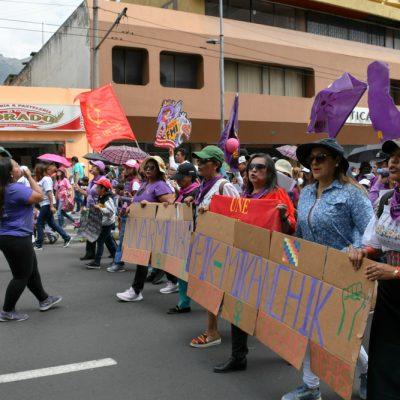Organizaciones de mujeres y sociales