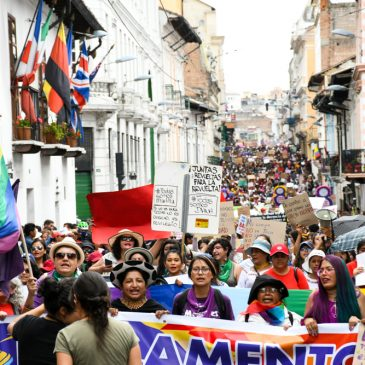 Fotoreportaje marcha Día internacional de la Mujer