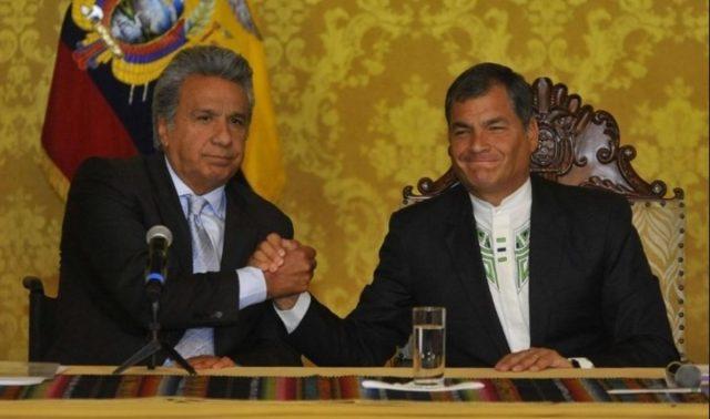 cinismo Rafael Correa