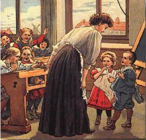 A la maestra-poeta que enseñaba