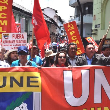 El sindicato más grande del Ecuador cumple 76 años