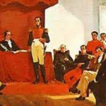 14 de agosto 1830, primera Constituyente de la República Del Ecuador