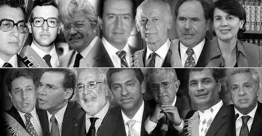 Los jinetes de la corrupción en el Ecuador