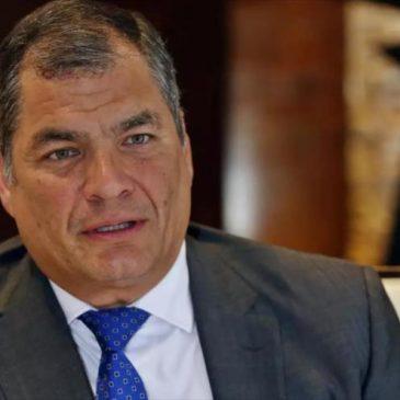 Rafael Correa, fanático cadáver político