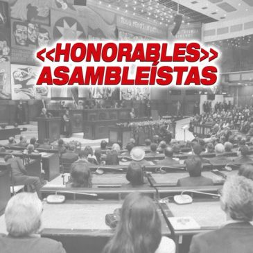 """Honorables"" asambleístas"