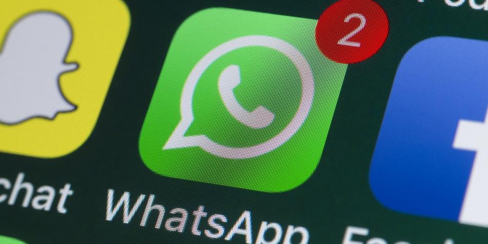 alerta con whatsapp