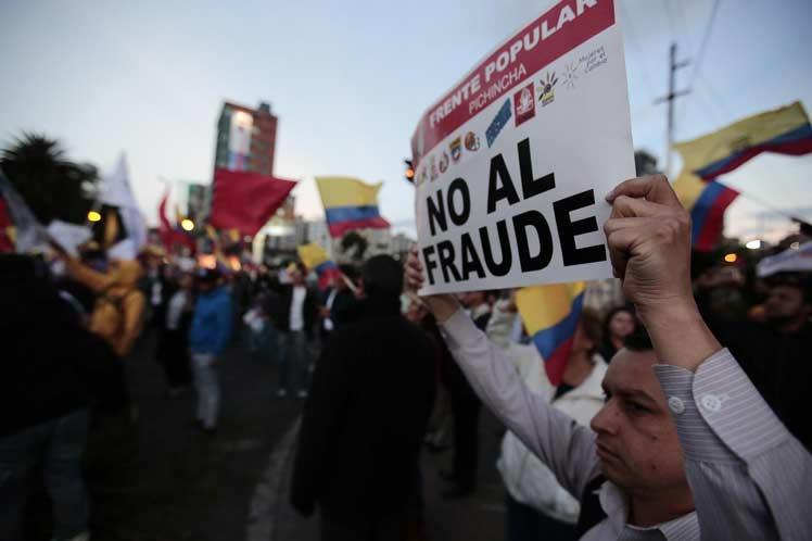 Fraude Ecuador
