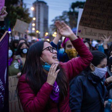 """Marchas Feministas y los """"indignados"""""""