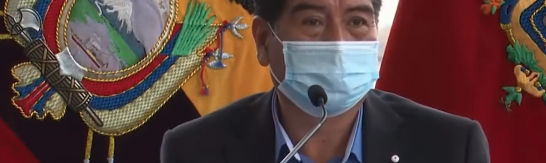 Jorge Yunda, alcalde Quito