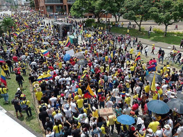 El paro en Colombia contra el paquetazo
