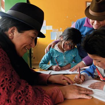 A recuperar el Sistema de Educación Intercultural Bilingüe