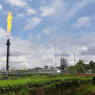 La quema de gas en los mecheros: enormes perjuicios