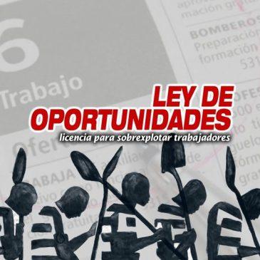 Ley de oportunidades